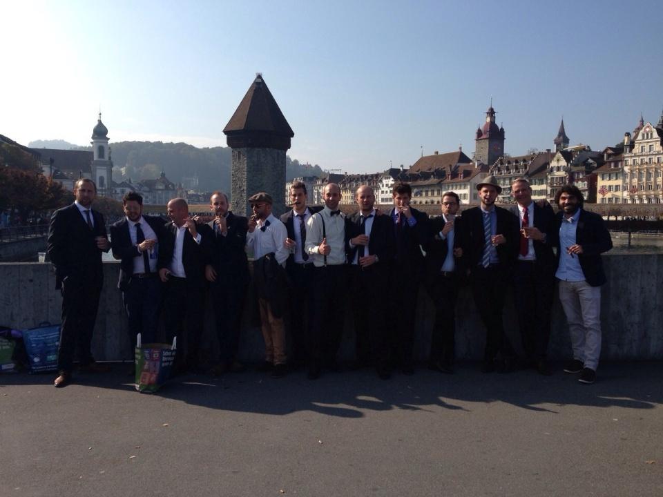 Olumpia-Truppe in Luzern