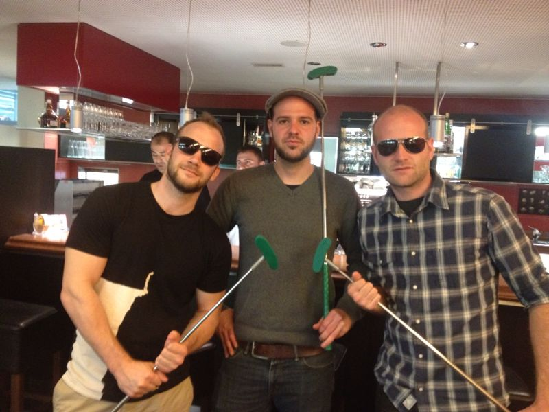 Sieger-Trio